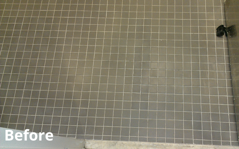 Tile & Grout Before